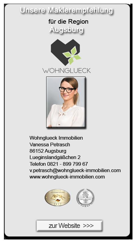 Augsburg Immobilienmakler kostenlose immobilienwertermittlung petrasch wohnglück